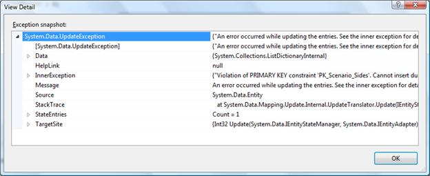 Entity framework identity errors jamie dixon 39 s home for Design table not updating